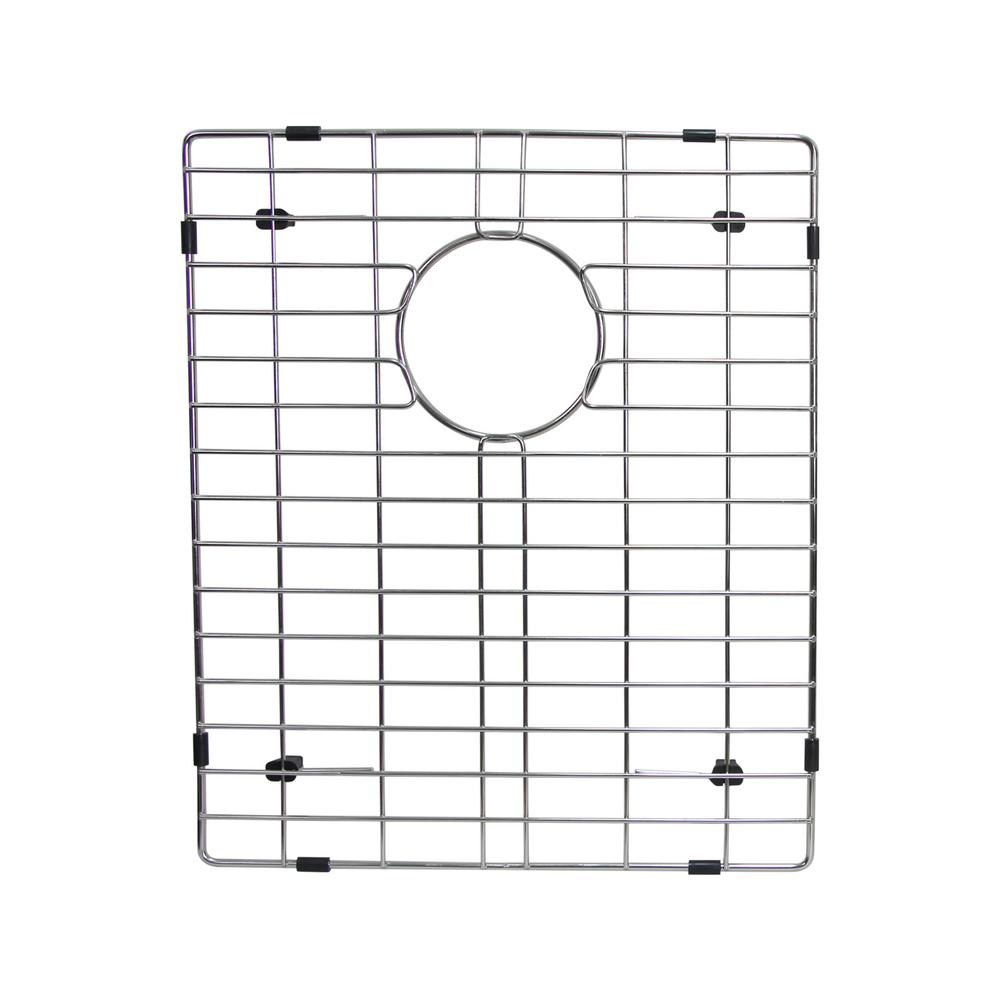 16.8 in. x 12.2 in. Kitchen Sink Bottom Grid in Stainless
