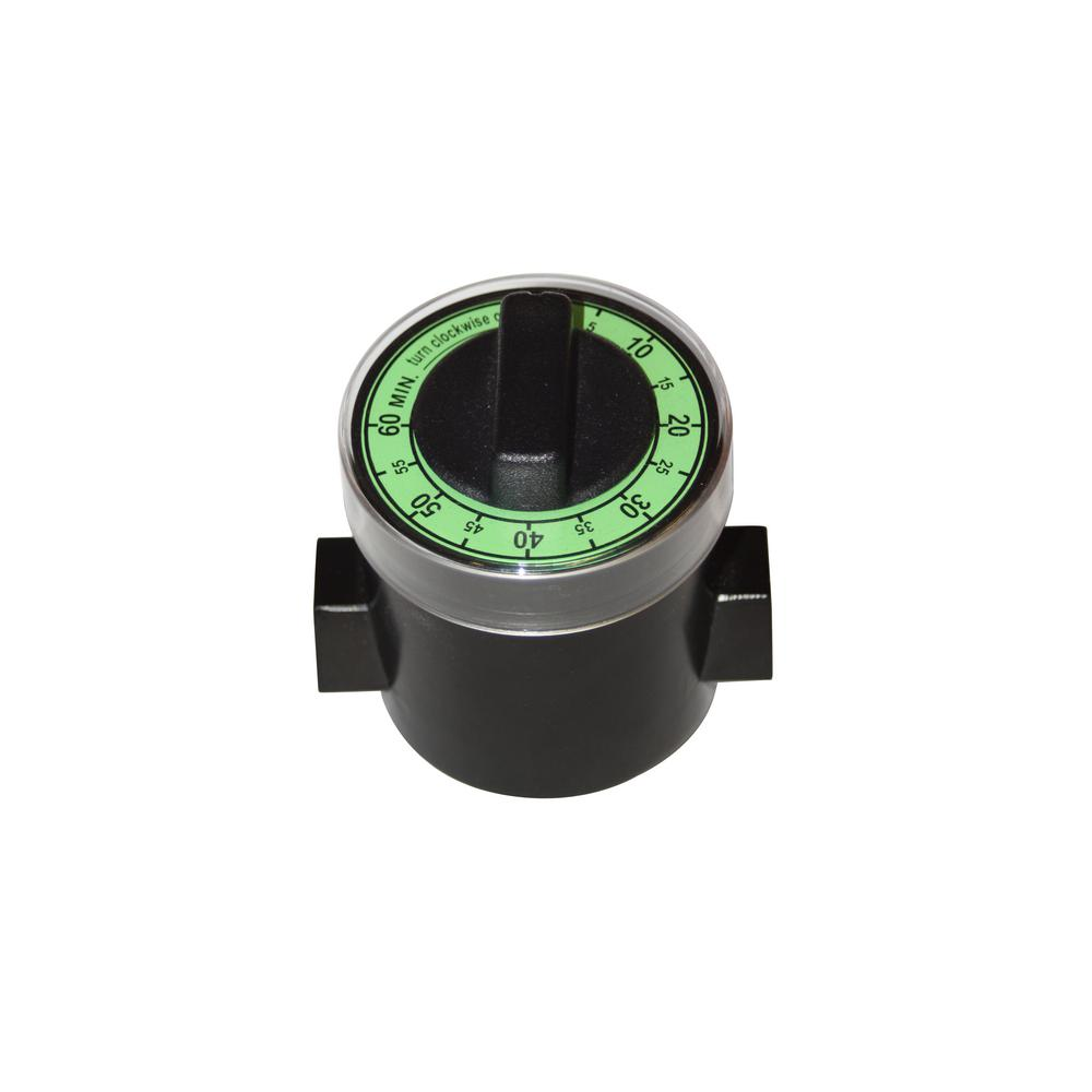 3/8 in. Automatic Non-Electric Shut-Off Valve with Timer for Gas Barbecue