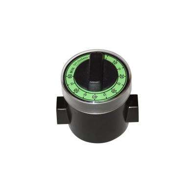 3/8 in. Automatic Non-Electric Shut-Off Valve with Timer for Gas Barbecue Grill Connections