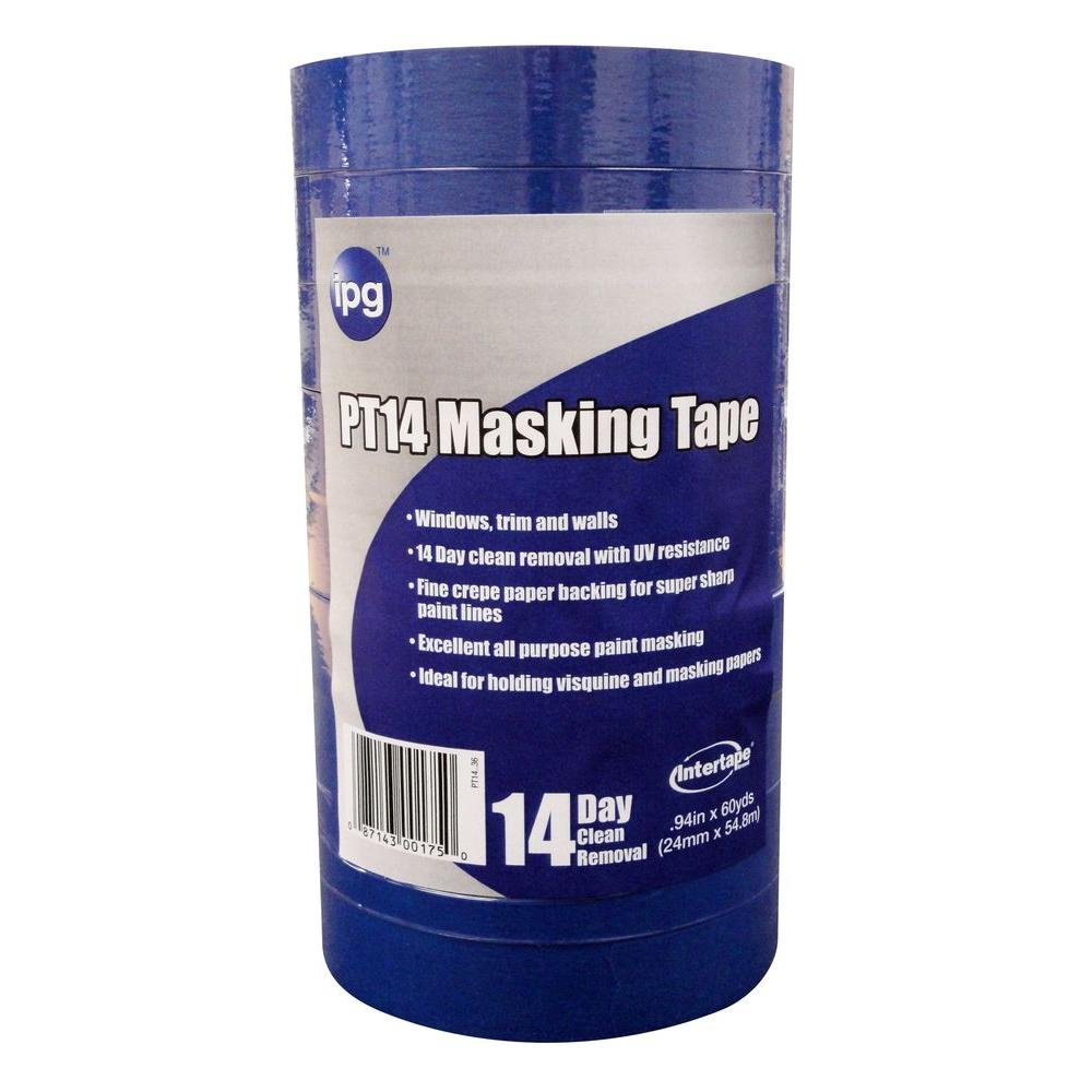 PT14 Pro Mask Blue 1 in. x 60 yds. Masking Tape