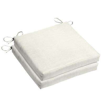 cheap outdoor chair cushions White   Outdoor Chair Cushions   Outdoor Cushions   The Home Depot cheap outdoor chair cushions