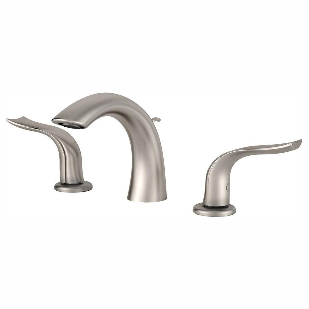 Awesome Kraus Kohra 8 In Widespread 2 Handle Bathroom Faucet In Brushed Nickel Download Free Architecture Designs Ogrambritishbridgeorg