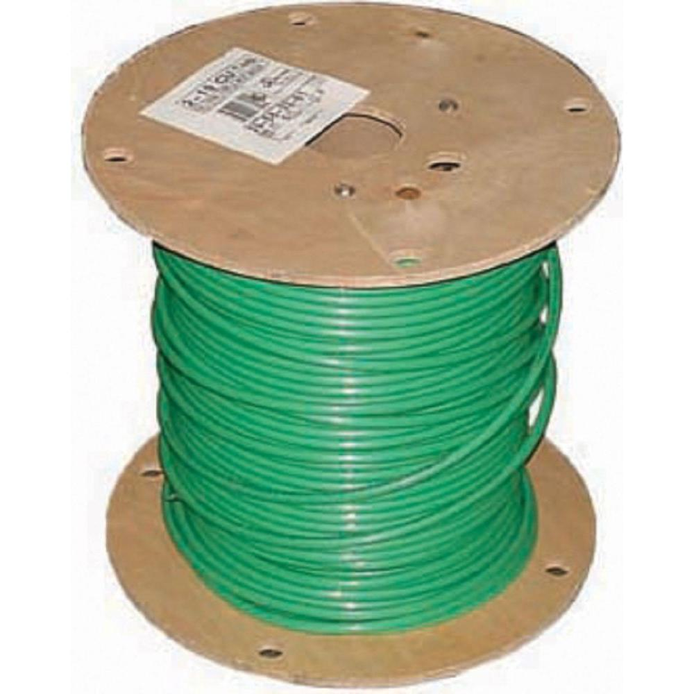 1,000 ft. 2 Green Stranded CU SIMpull THHN Wire