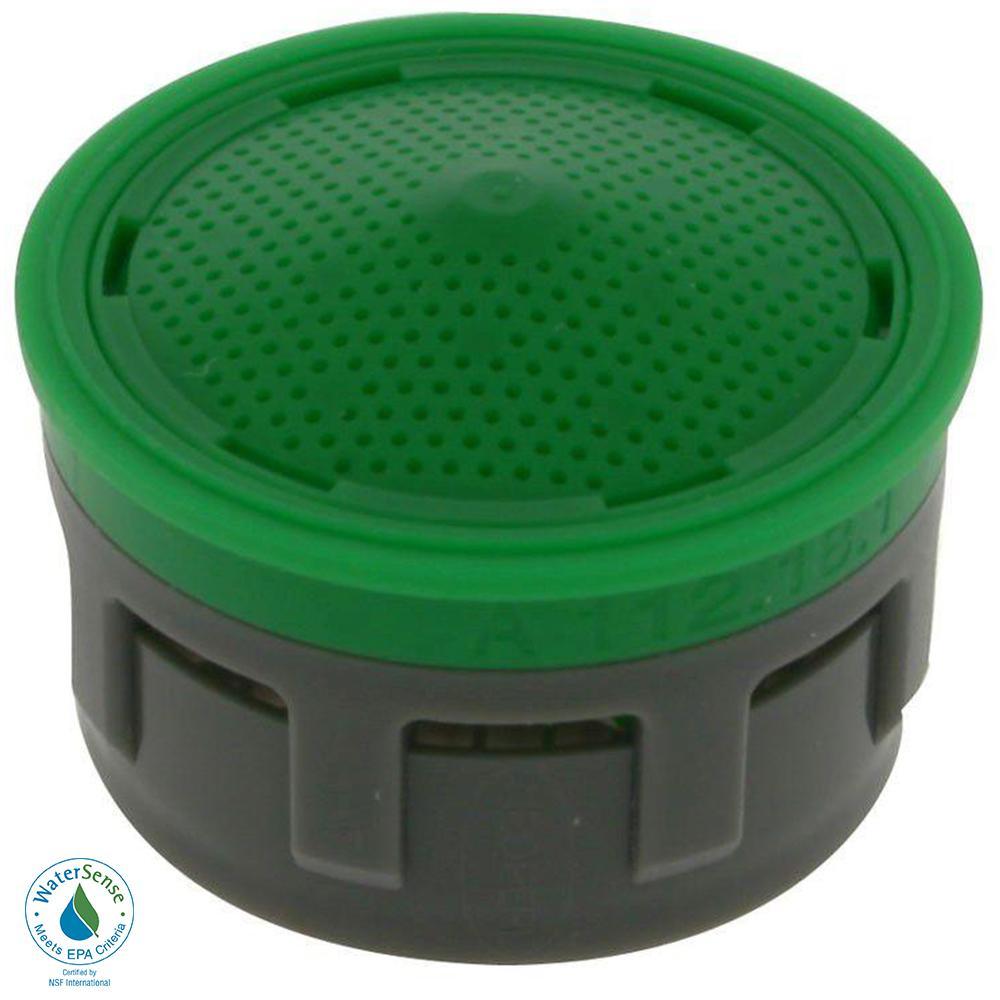 1.5 GPM Regular Size Water-Saving Aerator Insert with Washers