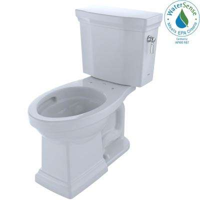 Promenade II 2-piece 1.28 GPF Single Flush Elongated Toilet with CeFiONtect and Right Hand Trip Lever in Cotton White
