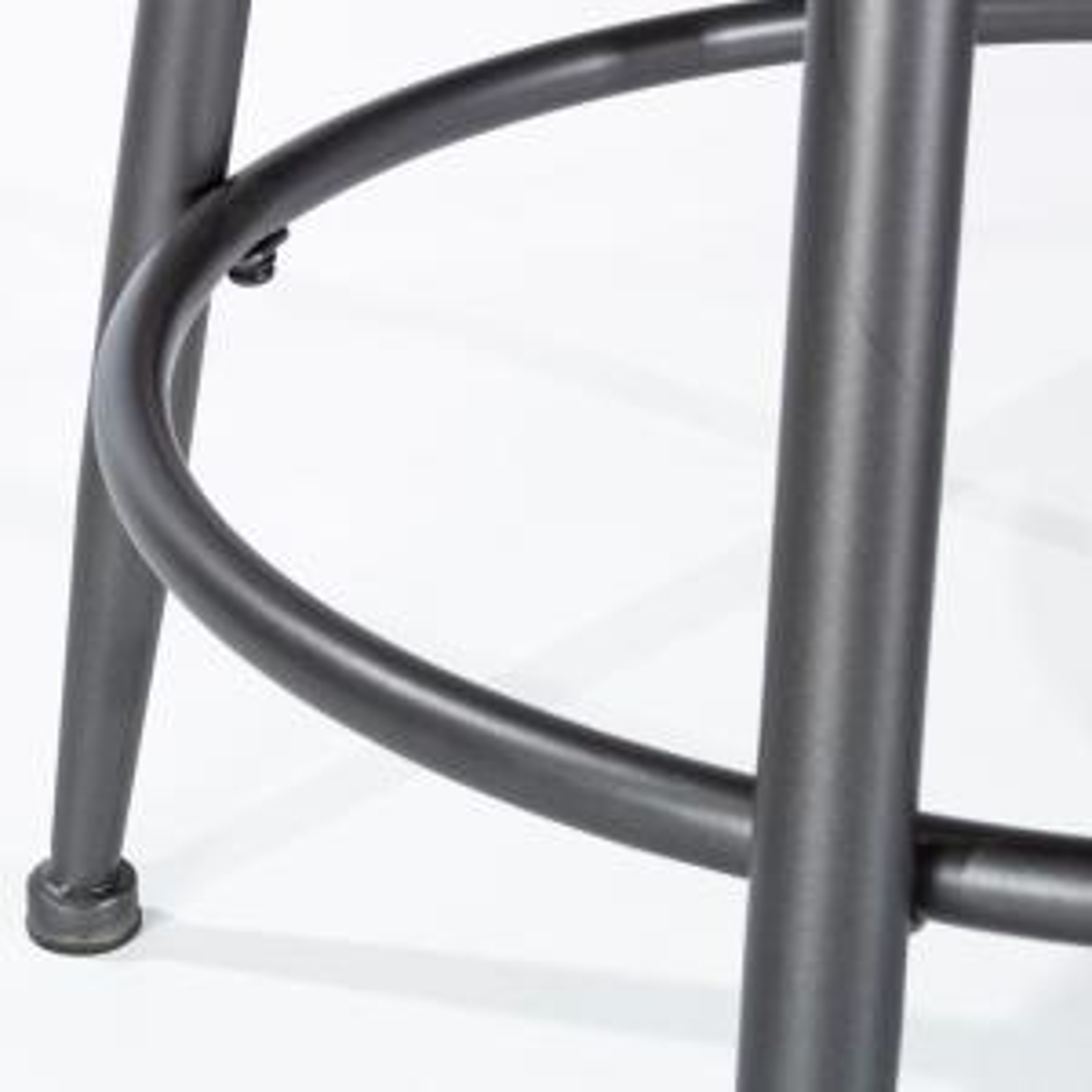 Fine Hillsdale Furniture Melange 26 In Charcoal And Dark Gray Ibusinesslaw Wood Chair Design Ideas Ibusinesslaworg