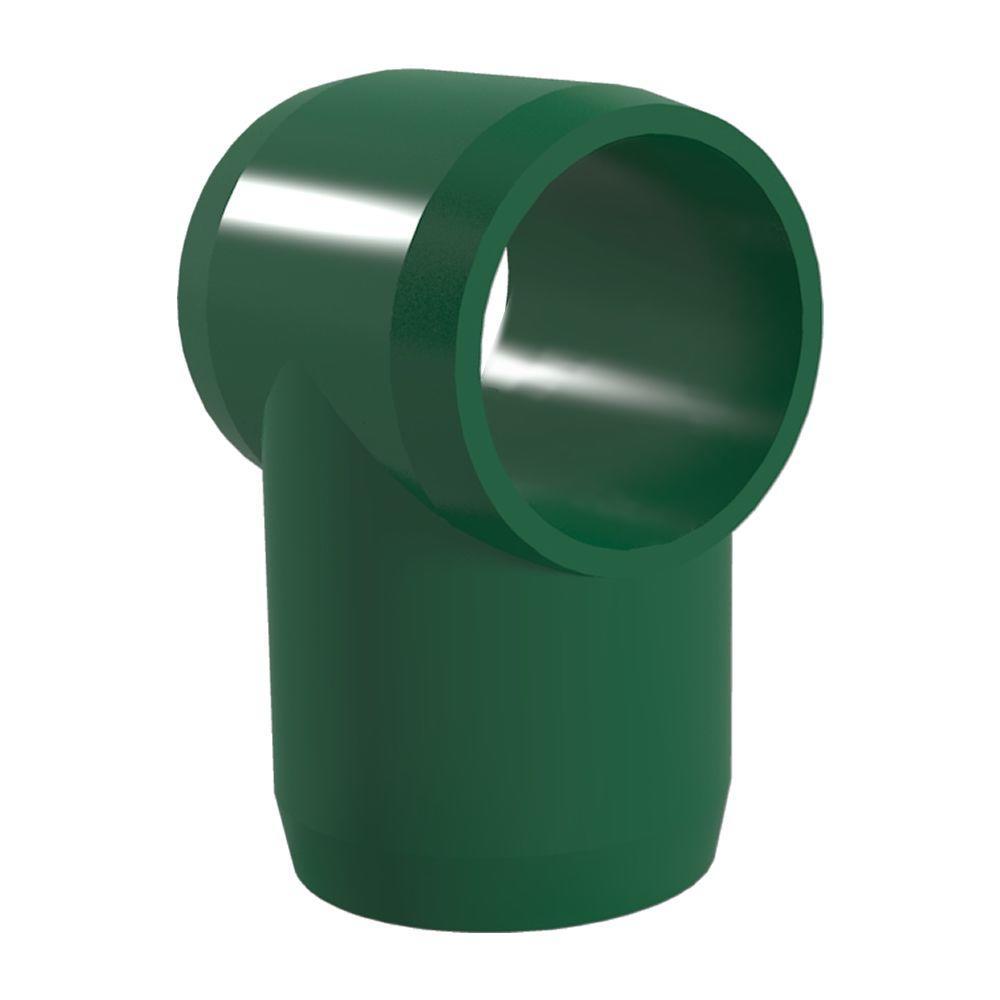3/4 in. Furniture Grade PVC Slip Sling Tee in Green (8-Pack)