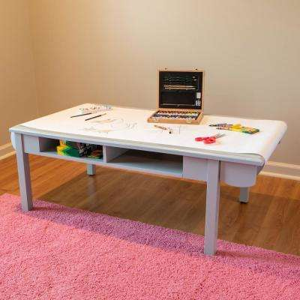Matilda Gray Craft Desk