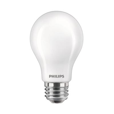 40-Watt Equivalent A19 Dimmable Energy Saving LED Light Bulb in Frosted Glass Daylight, 5000K (8-Pack)