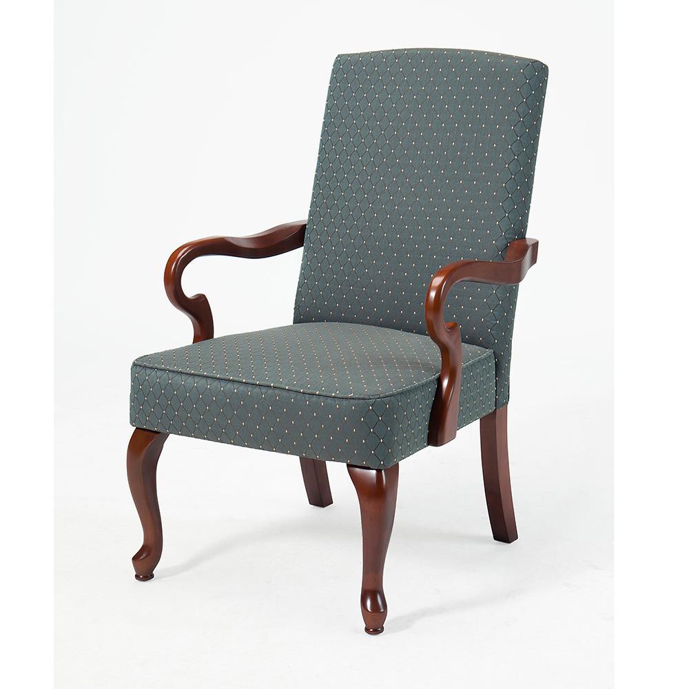 Crystal Horizon Gooseneck Arm Chair
