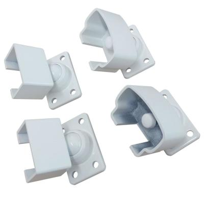 White Aluminum Pivot Bracket Kit