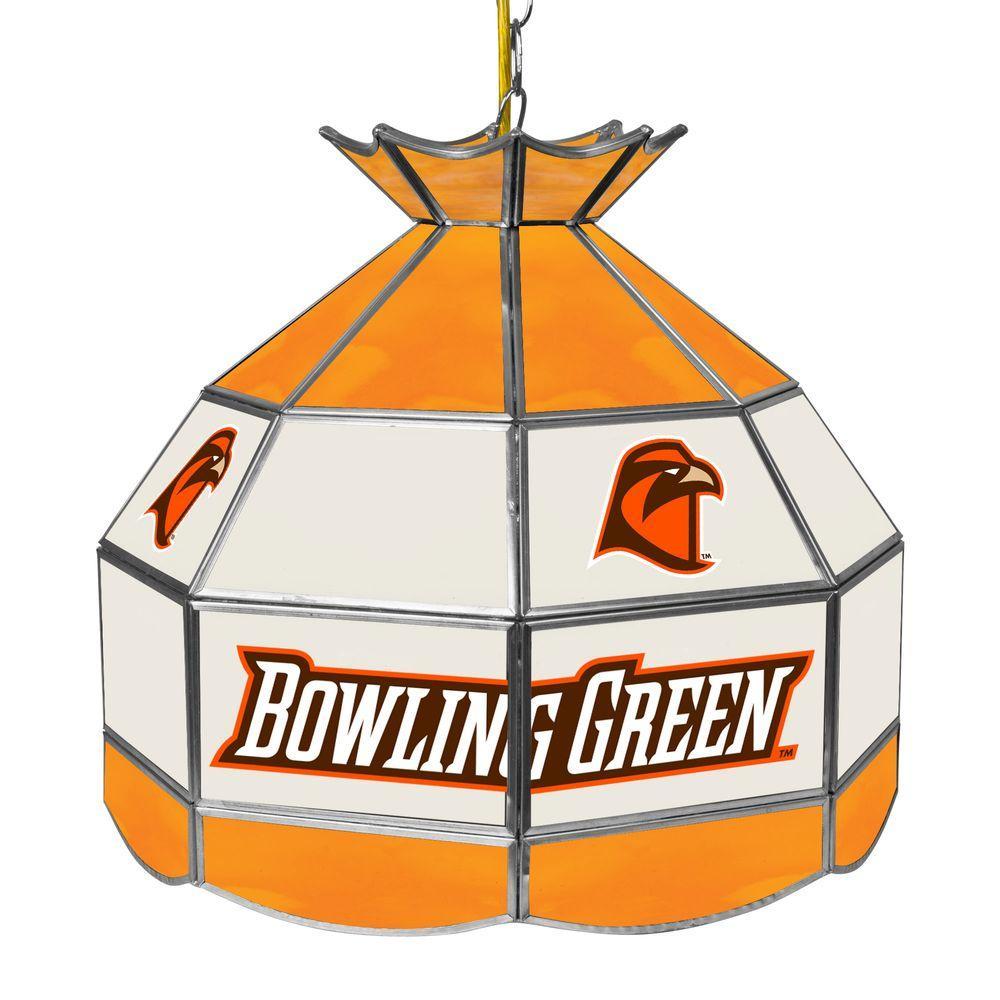 Bowling Green Hanging Tiffany Style Billiard Lamp