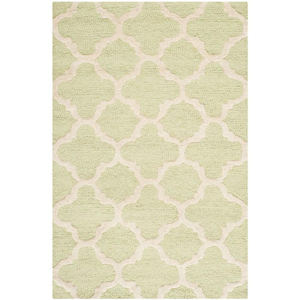 Safavieh Cambridge Light Green/Ivory 2 ft. 6 in. x 4 ft. Area Rug