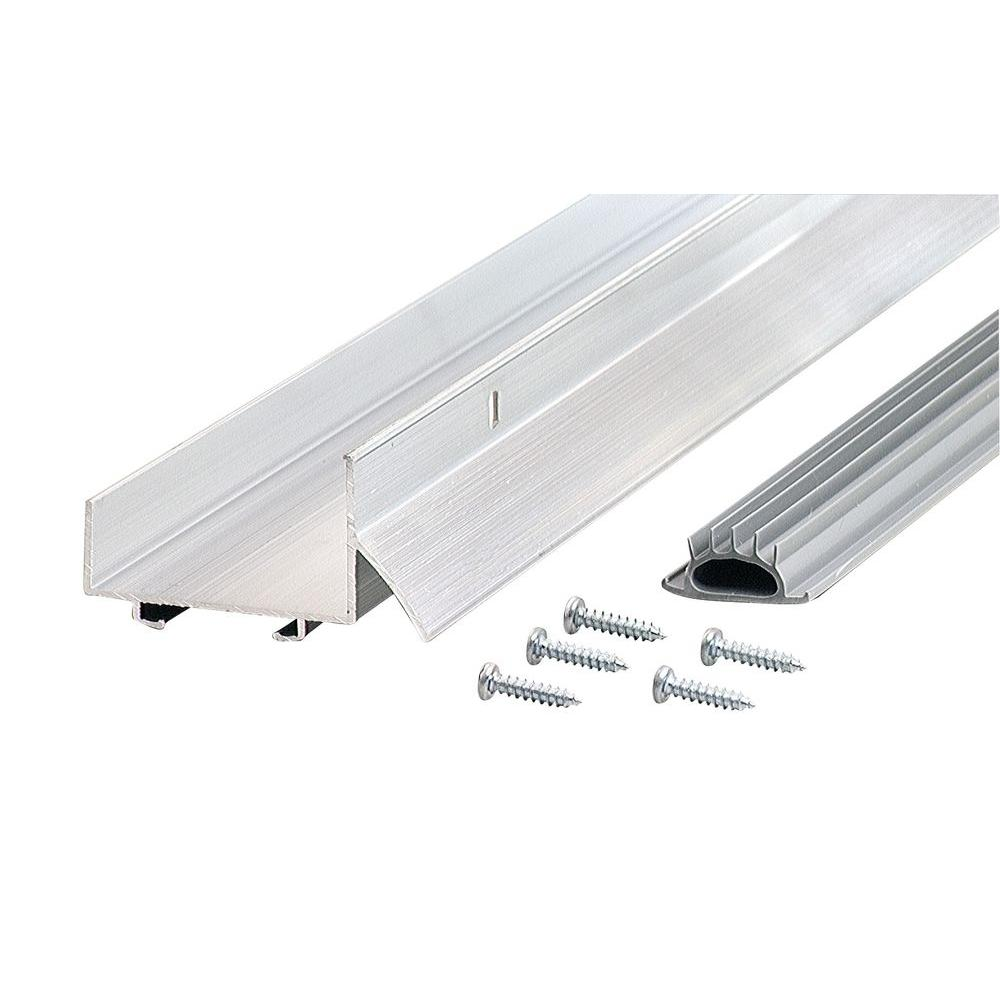 M-D Building Products 1-3/4 in. x 36 in. Aluminum and Vinyl U-shaped Door Bottoms (44-Pack)-DISCONTINUED