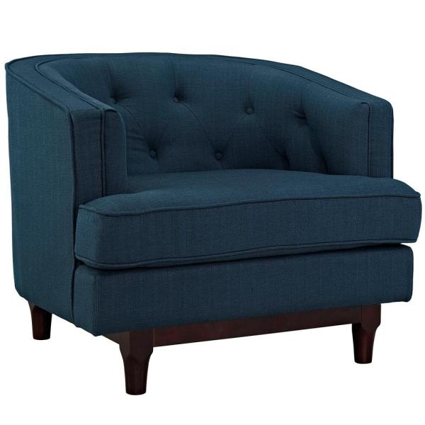 MODWAY Azure Coast Upholstered Arm Chair EEI-2130-AZU