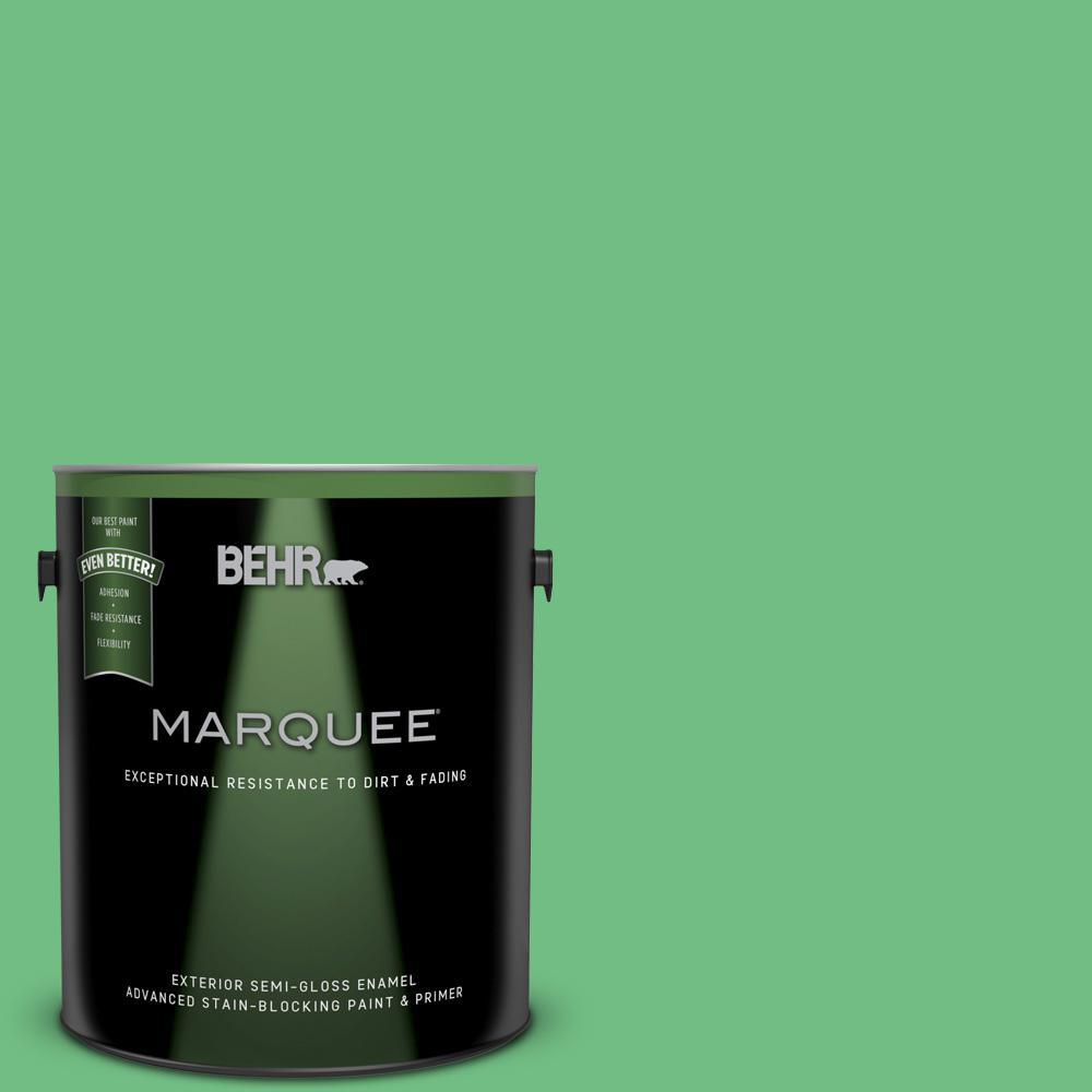 Behr Premium Plus Ultra 1 Gal P400 5 Winter Shamrock Semi Gloss Enamel Exterior Paint 585401