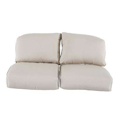Camden Sunbrella Canvas Antique Replacement Outdoor Loveseat Cushions