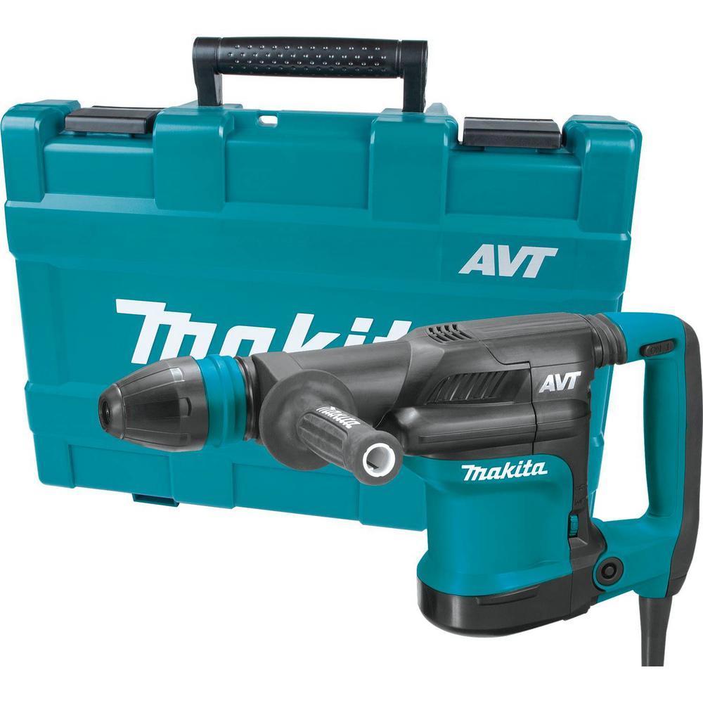 Makita 12 lbs. AVT Demolition Hammer, Accepts SDS-MAX Bits