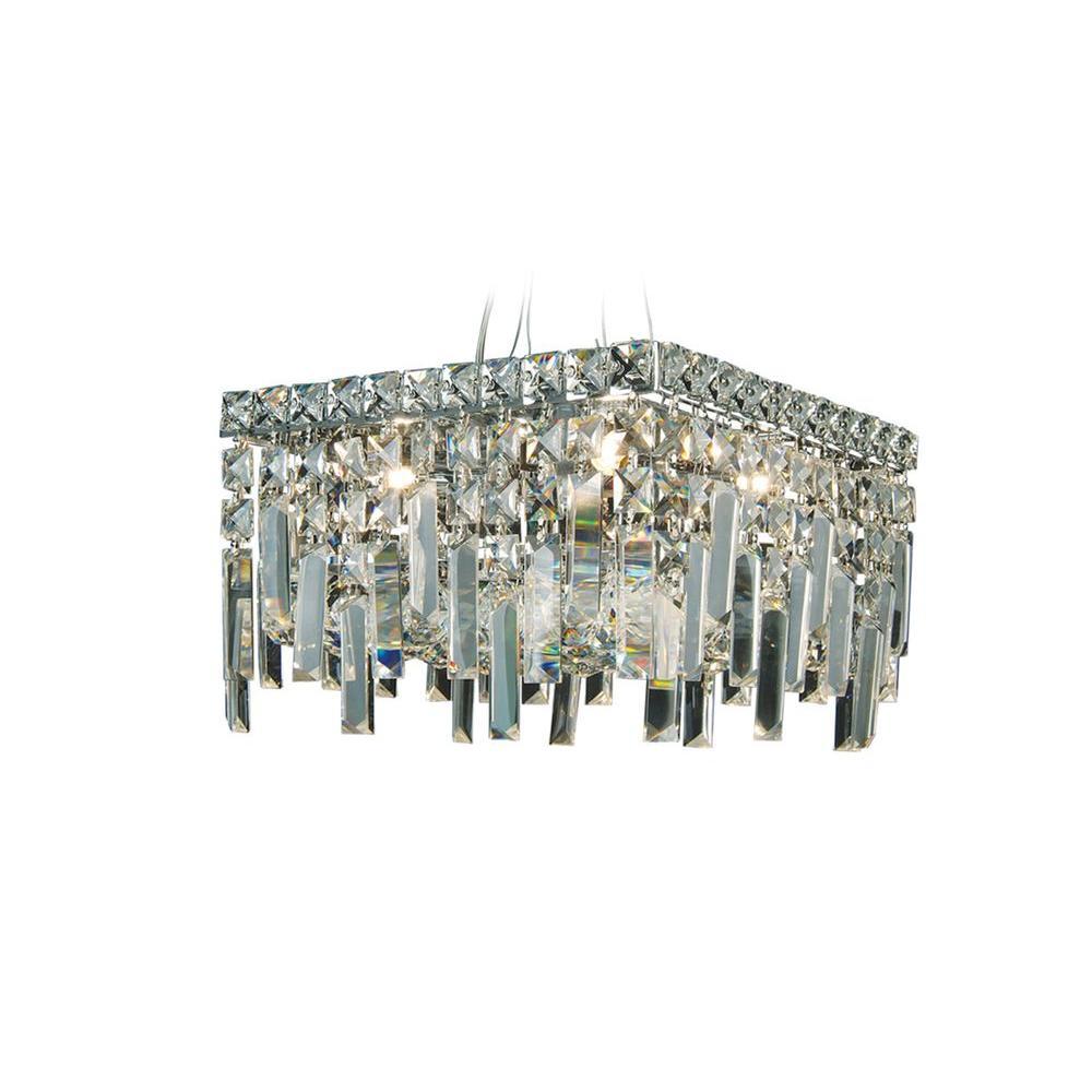 Filament Design Xavier 4-Light Chrome Pendant