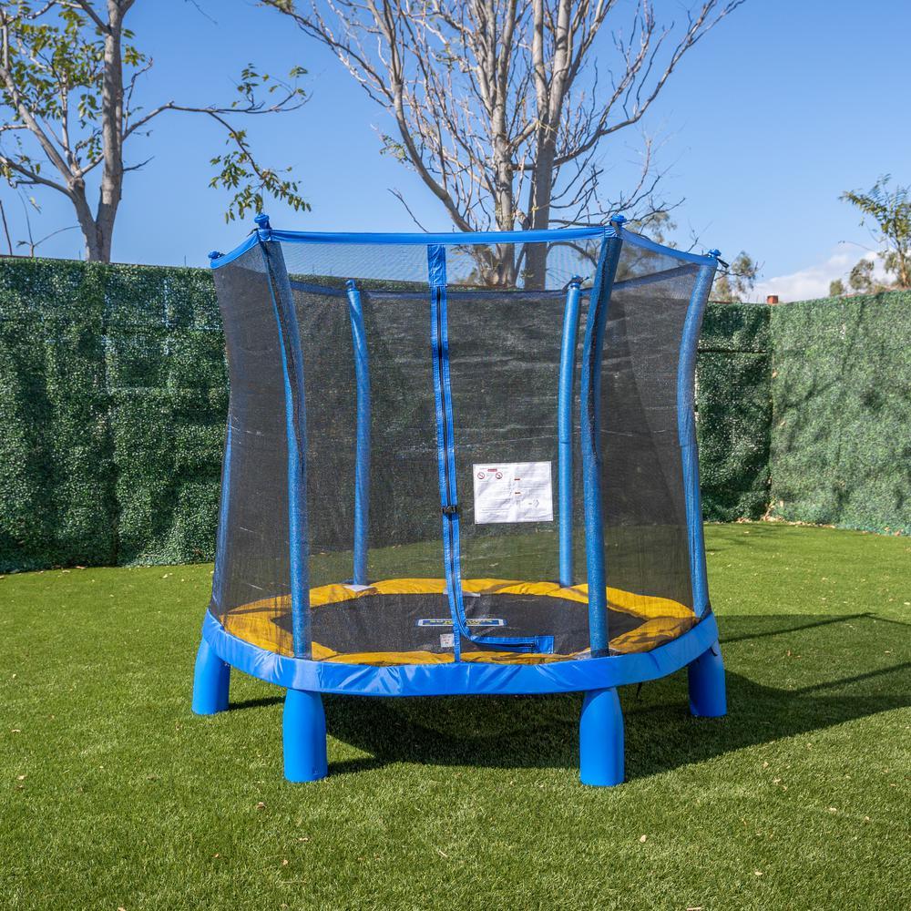 Sportspower Trujump 7 ft. Dia. My First Trampoline w/ Enclosure