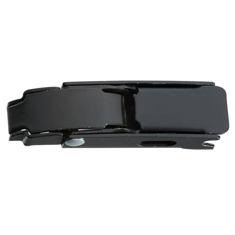 4 in. Draw Hasp in Black
