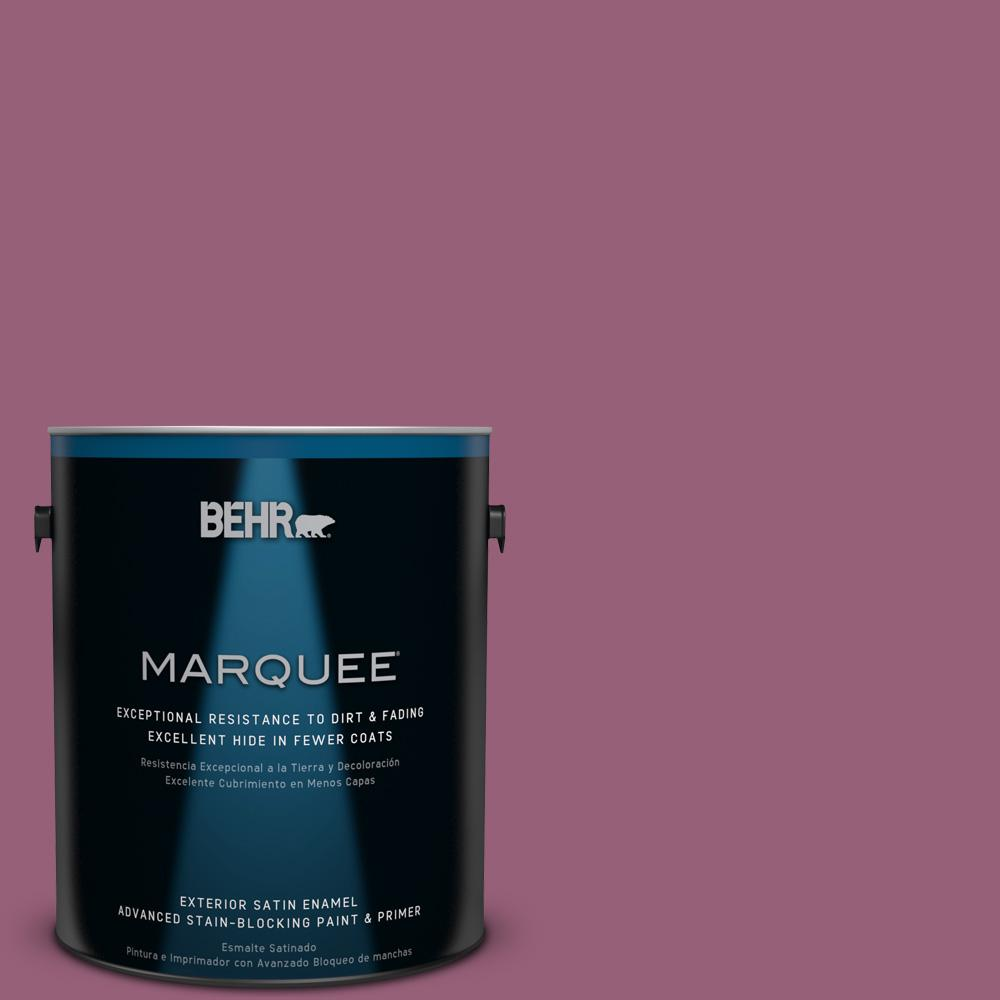 BEHR MARQUEE 1-gal. #UL100-17 Forest Berry Satin Enamel Exterior Paint