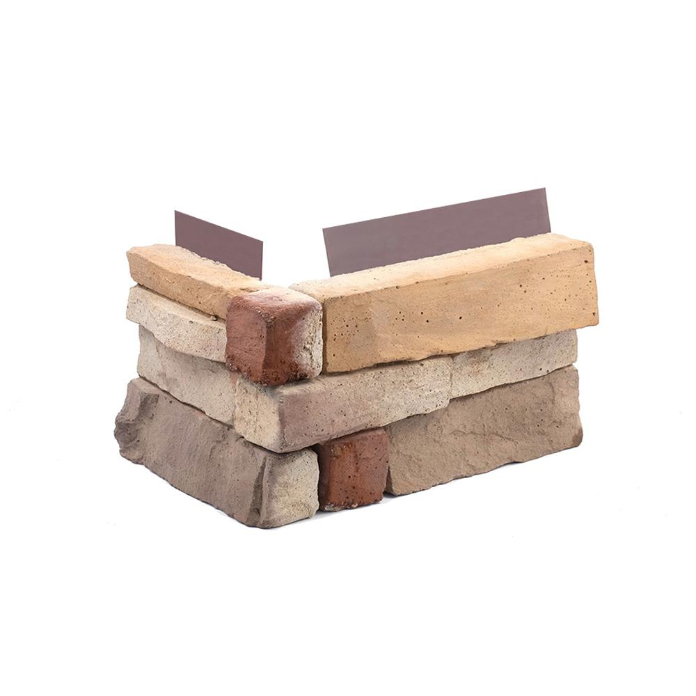 1.75 in. x 6 in. Desert Tan Stone Veneer Siding (Corners)