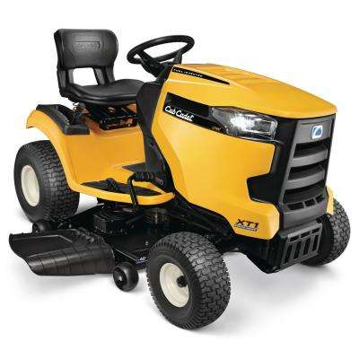 LT 46 in. Fabricated Deck 547cc Fuel Injected Engine Gas Hydrostatic Lawn Tractor with Push Button Start