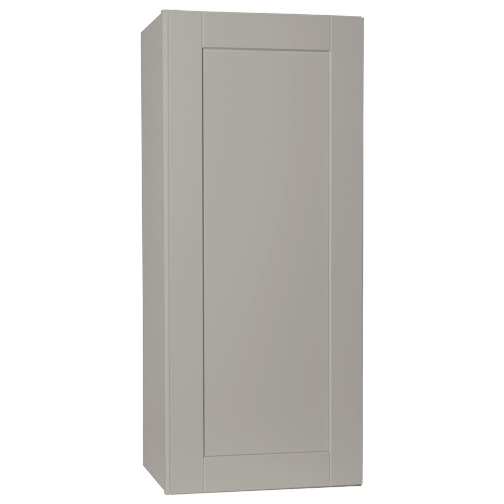Hampton Bay Shaker Assembled 18x36x12 In. Wall Kitchen
