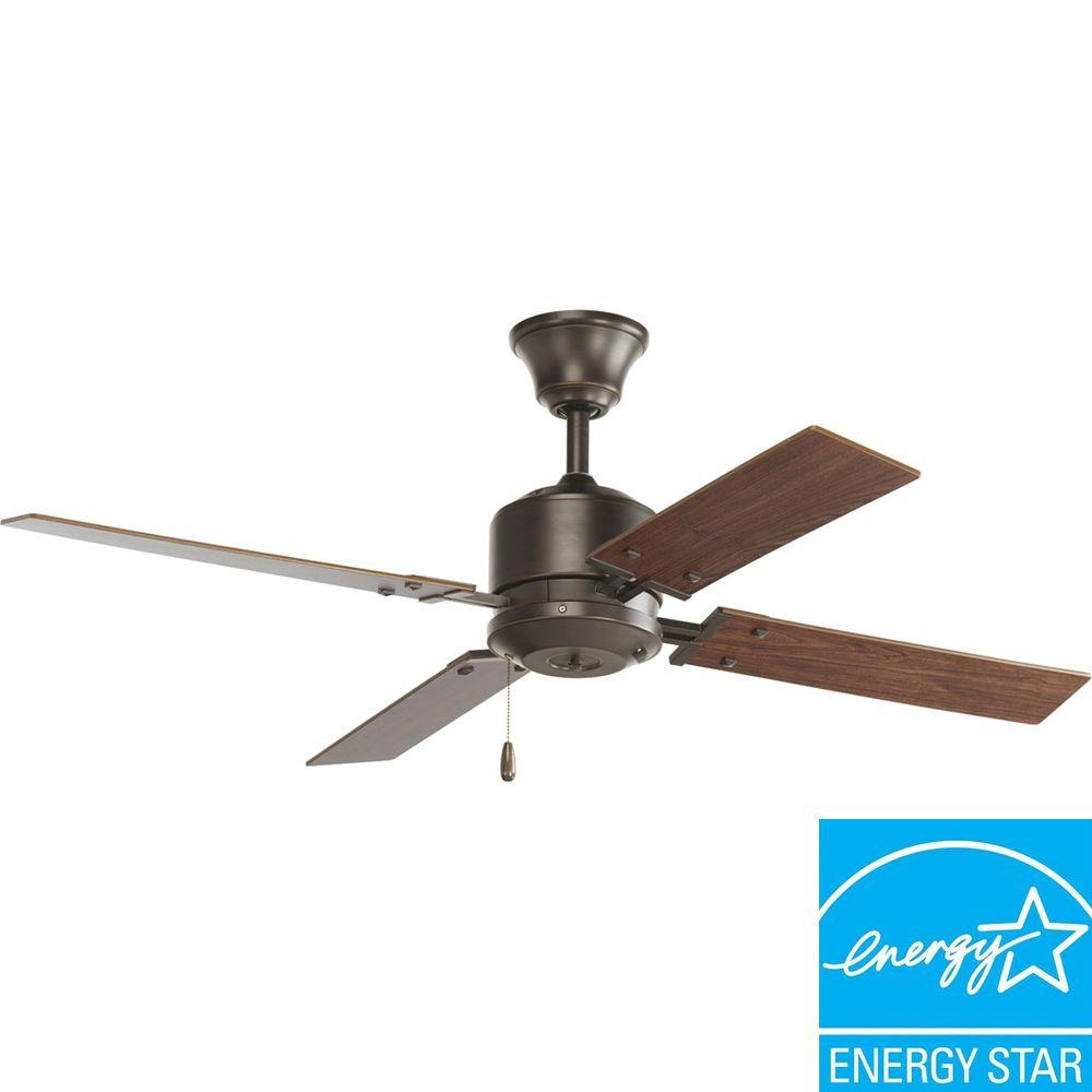 Indoor Brushed Nickel Ceiling Fan P2531 09 The Home Depot