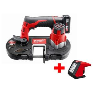 Milwaukee M12 12-Volt Lithium-Ion Cordless Sub-Compact Band Saw XC Kit with Free M12 LED Flood Light by Milwaukee