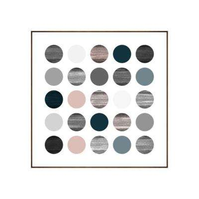 "25.25 in. x 25.25 in. ""Planets I"" by Bobby Berk Printed Framed Wall Art"