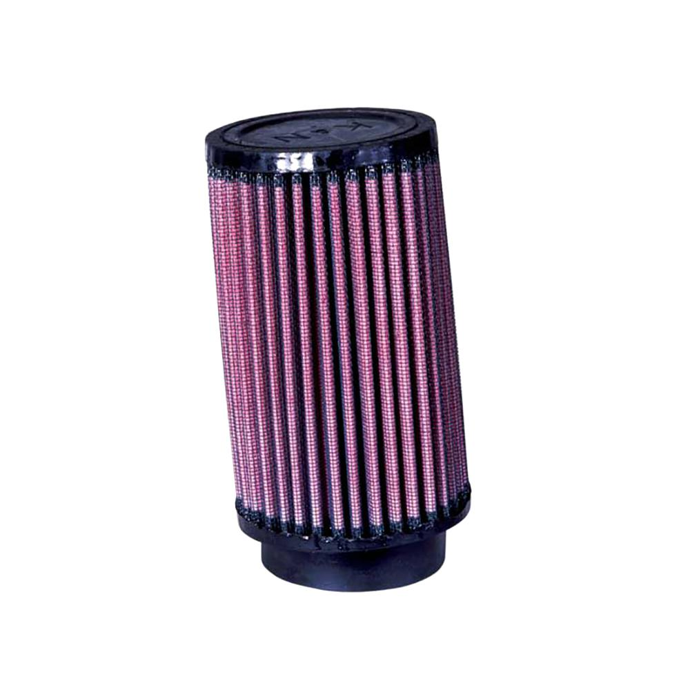 K&N Universal Rubber Filter 5 Degree Angled Flange 3.5in OD / 2.5in Flange ID / 6in Height