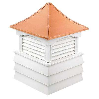 Sherwood 26 in. x 37 in. Vinyl Cupola with Copper Roof