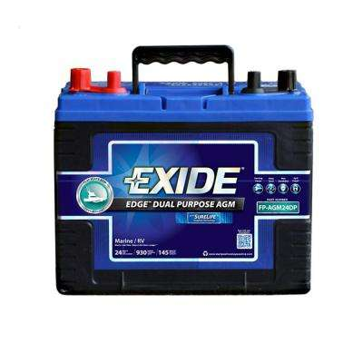 24 Marine Dual Purpose AGM Battery