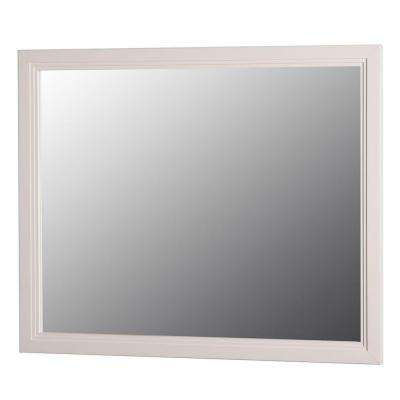 Brinkhill 31 in. W x 26 in. H Wall Mirror in Cream