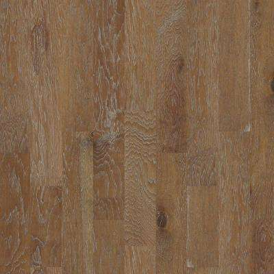 Take Home Sample - Andes Hickory Mushroom Engineered Hardwood Flooring - 6-3/8 in. x 8 in.