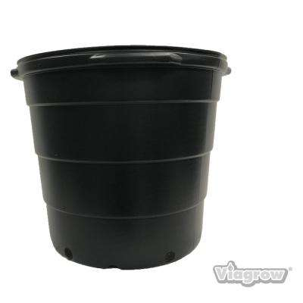 20 Gal. Round Plastic Nursery Garden Pots (5-Pack) (20.4 actual gallons/77.22 l/3.17 cu. ft.)