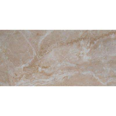 Cancun Beige 12 in. x 24 in. Glazed Ceramic Floor and Wall Tile (16 sq. ft. / case)