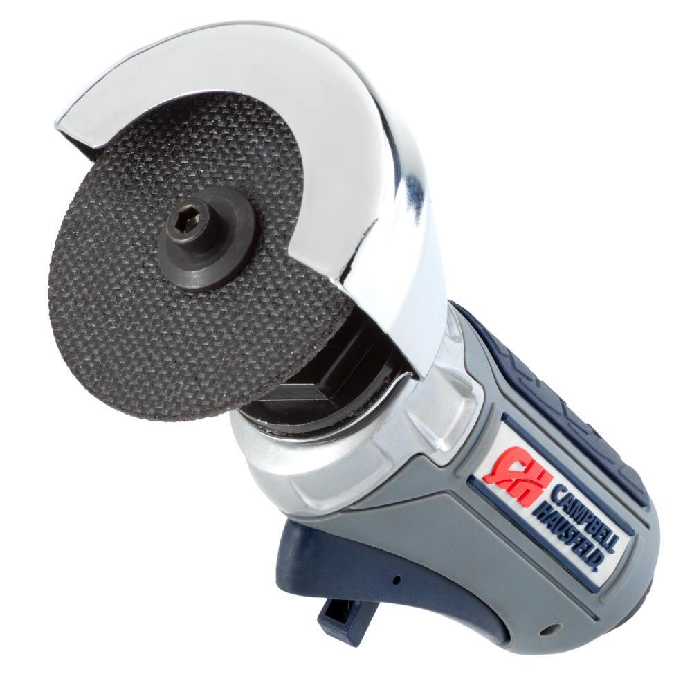 Campbell Hausfeld Get Stuff Done Air Cut-Off Tool Horsepower, 3 inch Cutting Disc, 360 Degree Rotating Guard (XT200000)