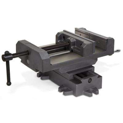 8-3/8 in. Compound Cross Slide Industrial Strength Benchtop Vise