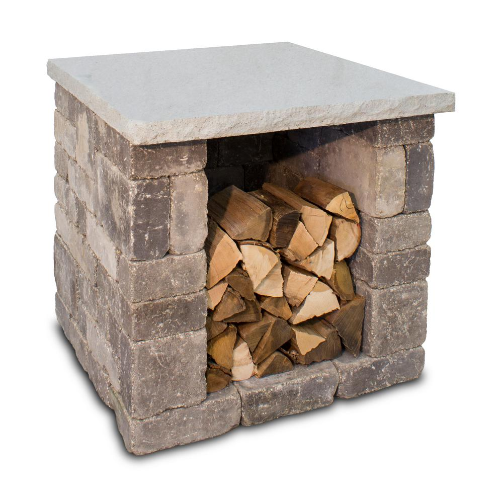 36 in. x 34 in. Outdoor Pizza Oven Wood Box Kit