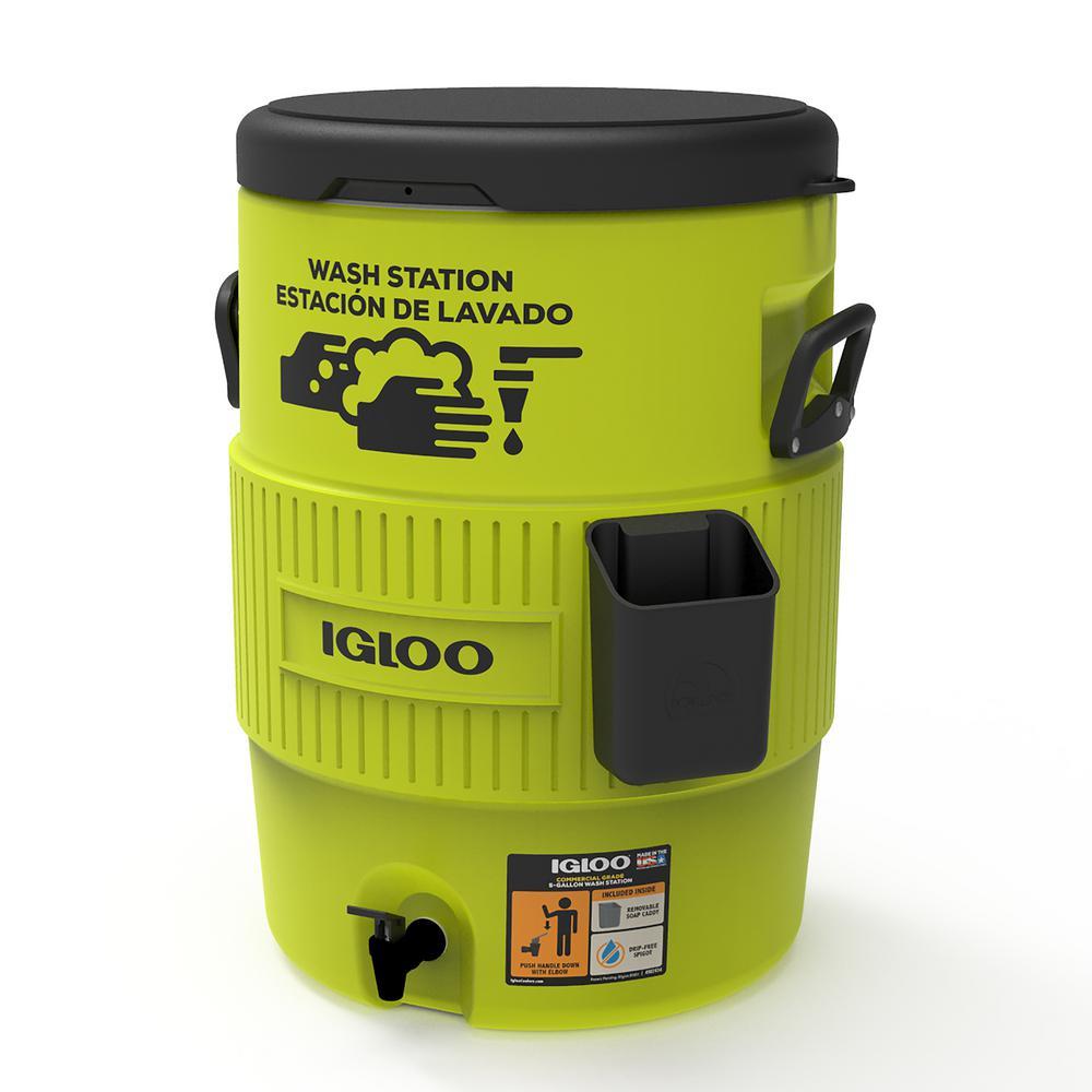 Igloo 10 Gallon Wash Station Cooler - Acid Green