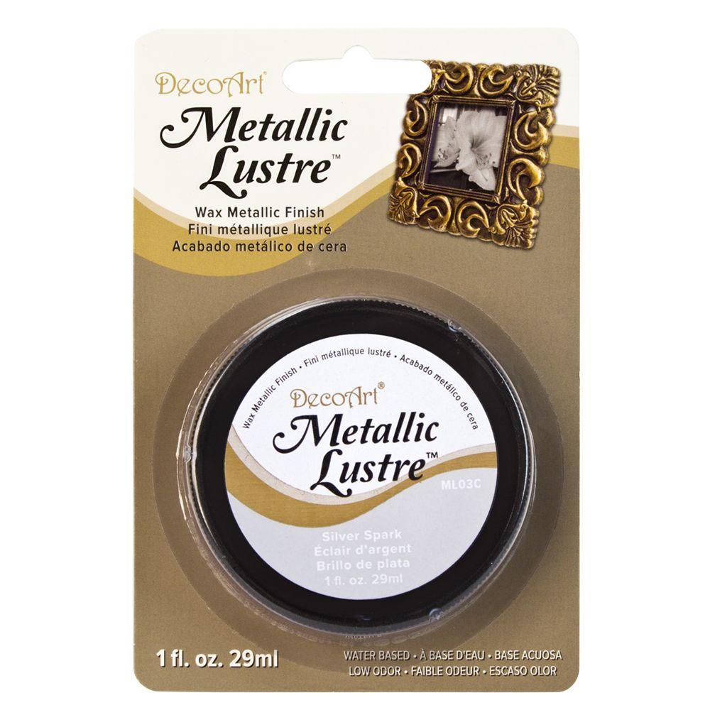 Metallic Lustre 1 oz. Silver Spark