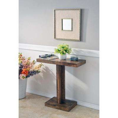 Enrique Toasted Walnut Console Table