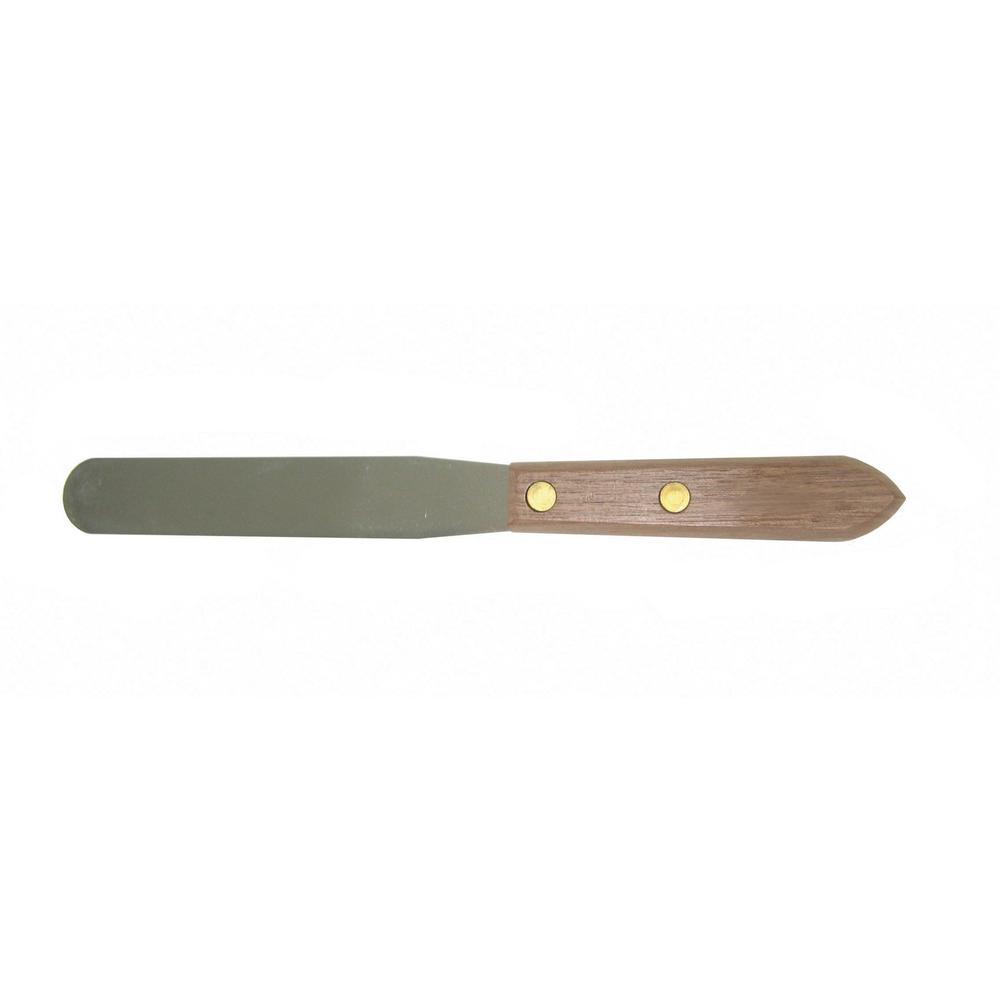4 in. x 3/4 in. Stainless Steel Blade Caulking Spatula