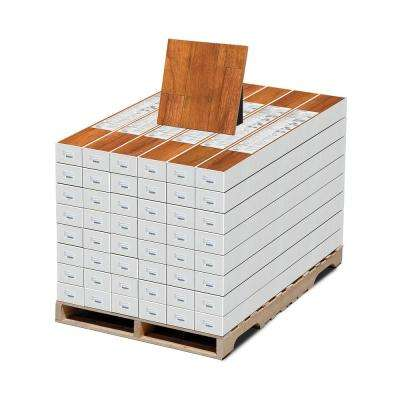 High Gloss Pacific Cherry 8 mm Thick x 5 in. Wide x 47-3/4 in. Length Laminate Flooring (636.48 sq. ft. / pallet)