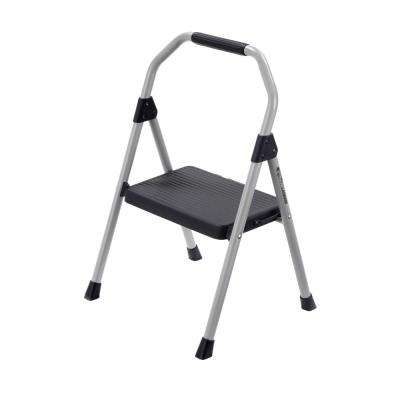 1-Step Compact Steel Step Stool with 225 lb. Load Capacity Type II Duty Rating