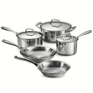 Tramontina Gourmet Prima 8-Piece Stainless Steel Cookware Set with Lids by Tramontina