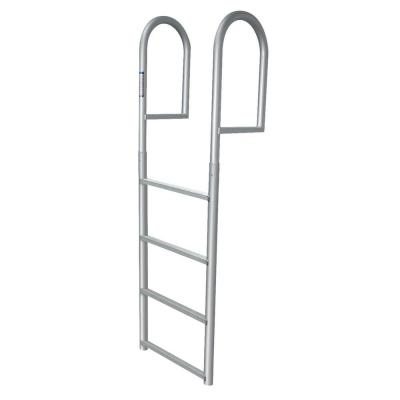 4-Step Standard Rung Aluminum Dock Ladder